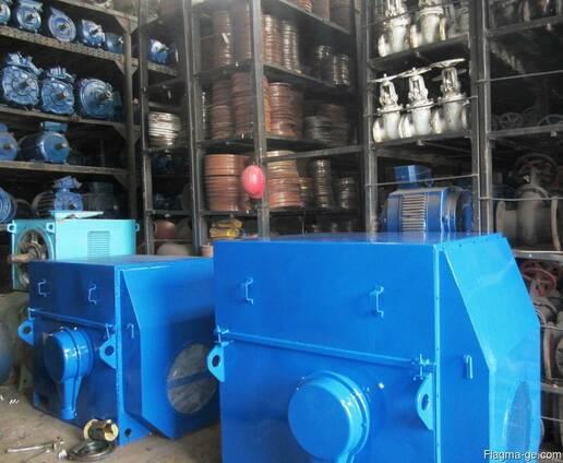 Электродвигатели 200 кВт - 3150 кВт складского хранения