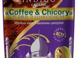 Кофе молотый с добавлением молотого цикория 100 грамм