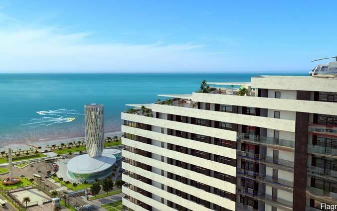 Квартиры с видом на море в комплексе «Аллея Палас»