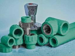 Полипропиленовые трубы для водоснабжения PN20 SDR6