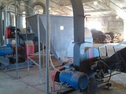 Производство биотоплива (200 кг/ч). Виробництво брикетів