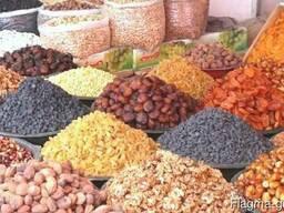 Сухофрукты орехи курага изюм арахис из Узбекистана