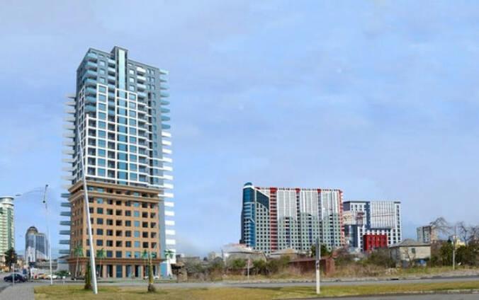 22-этажный современный жилой комплекс