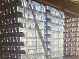 Алюминий высокой чистоты в слитках ГОСТ марка А4N6 99,998% - фото 1