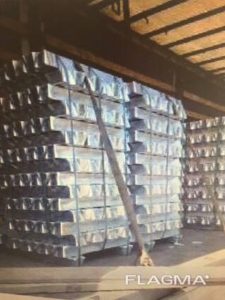 Алюминий высокой чистоты в слитках ГОСТ марка А4N6 99,998%