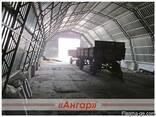 Ангары быстромонтируемые арочные, шатровые, прямостенные - фото 7