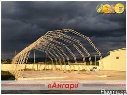 Ангары, склады, цеха, зернохранилища шириной от 8м до 24м - фото 2