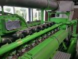 Б/У газовый двигатель Jenbacher 616 GSС87, 2000 Квт, 1997 г. - фото 4