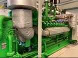Б/У газовый двигатель Jenbacher 616 GS 02, 1942 Квт, 1999 г. - photo 1