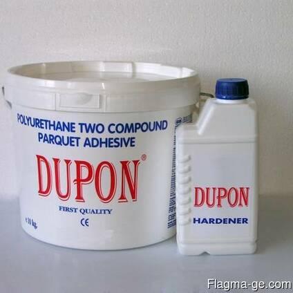 DUPON 2K Полиуретановый паркетный клей для деревянного парке