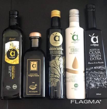 """Испанское Оливковое масло """"Extra Virgin"""" 0,25—0,5 и 5 литров"""