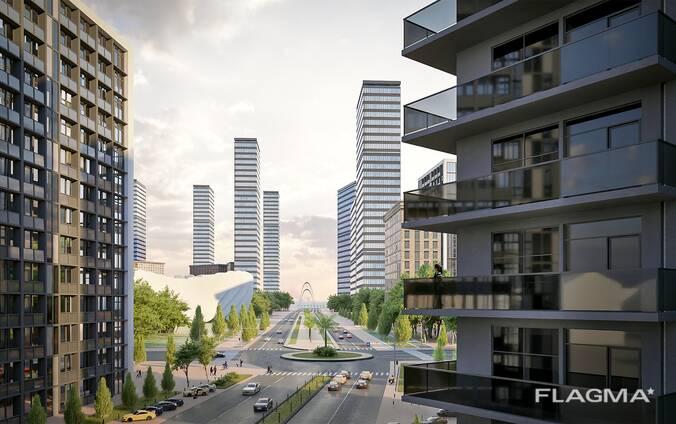 Комфортный жилой комплекс на Алее Героев в Батуми, в 20 минутах от бульвара