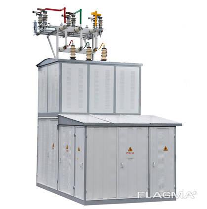 Комплектные трансформаторные подстанции КТПМ