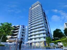 Продажа квартиры в Батуми кв. 56.27м Вид на горы Черный каркас этаж 4