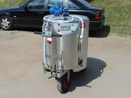 Молочное такси мтпэ-200 с электроприводом с дозацией
