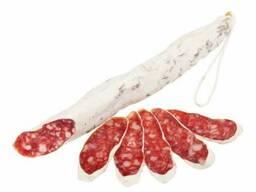 Колбаса сыровяленая производство Испании