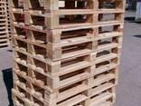 Поддон, паллет деревянный 800х1200,1000х1200 нов. и б/у - фото 1