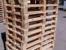 Поддон, паллет деревянный 800х1200, 1000х1200 нов. и б/у