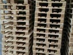 Поддон, паллет деревянный 800х1200,1000х1200 нов. и б/у - фото 5