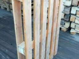 Поддон, паллет деревянный 800х1200,1000х1200 нов. и б/у - фото 6