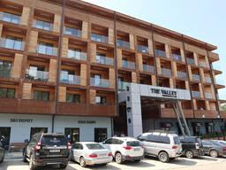 Продаётся студия на горнолыжном курорте в Грузии, в апарт-отеле The Valley Bakuriani