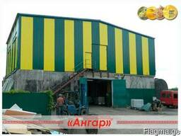 Производство ангаров, навесов, каркасов ангаров - фото 2