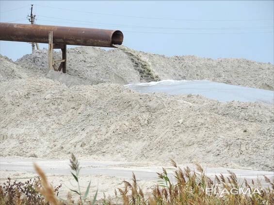 Речной (мытый) песок