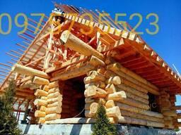 Строительство деревянных домов, срубов.