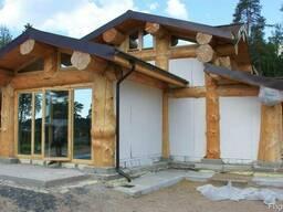 Строительство каркасно бревенчатых домов - фото 3