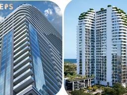 Односпальные апартаменты на берегу моря Батуми