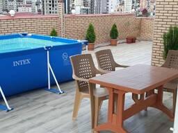 В Батуми сдается квартира посуточно, веранда с бассейн