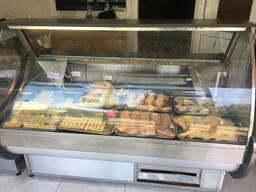 Витрина холодильник для магазина Кобулети. 2 шт вместе.