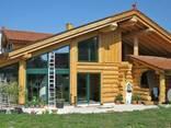 Строительство каркасно бревенчатых домов - фото 1