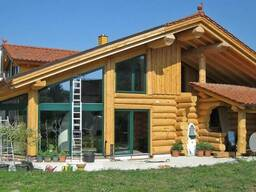 Строительство каркасно бревенчатых домов